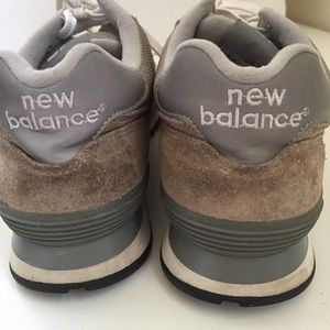 New Balance Shoes - New Balance 574 Womens Grey Running Casual Shoes